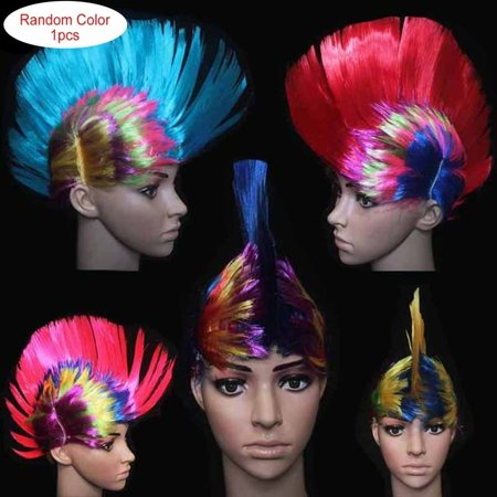 cnmodle Cockscomb Hair Wig Halloween Masquerade Ball Party Fashion Punk Hairstyle - Happy Halloween Hairstyle