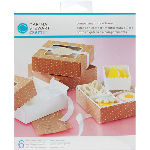 Martha Stewart Crafts Vintage Girl Compartment Treat Favor Boxes