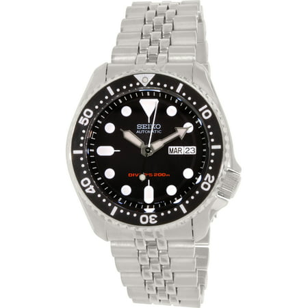 Mens Automatic Dive Watch (Seiko Men's Diver Automatic SKX007K2 Black Stainless-Steel Self Wind Diving Watch)