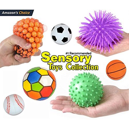 12 Pc Sensory Integration Products & Tools; Stress Reliever Autistic ADHD Toys Variety Pack for Kids - Fidget Toys, THERAPEUTIC AIDS Suitable for home,.., By Sensory Bundle - Kids Varsity