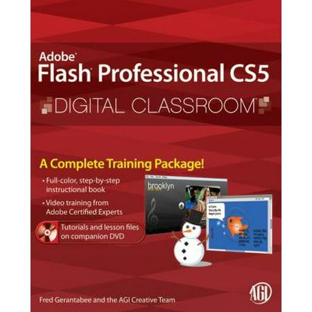 Adobe Flash Professional Cs5 Digital Classroom  With Dvd