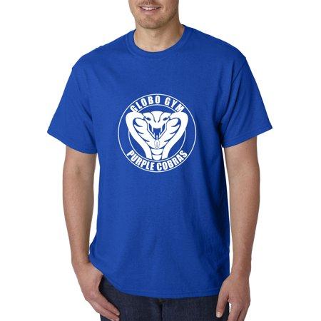 Trendy USA 978 - Unisex T-Shirt Globo Gym Cobras Dodgeball Team Small Royal Blue (Triathlon Team Usa)