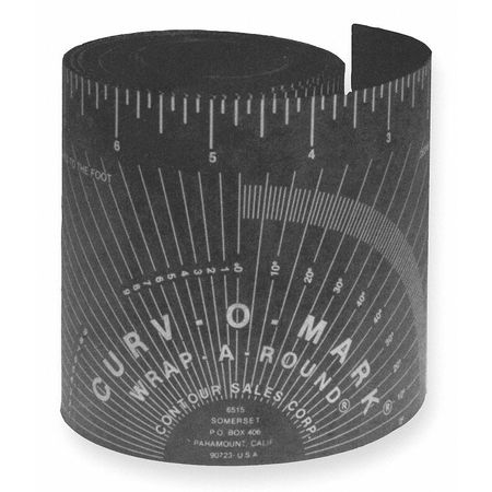 Jackson Safety Medium,Wrap-a-Round Tape Measure, 101475200