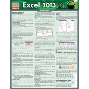 BarCharts 9781423220015 Excel 2013 Tips & Tricks Quickstudy Easel