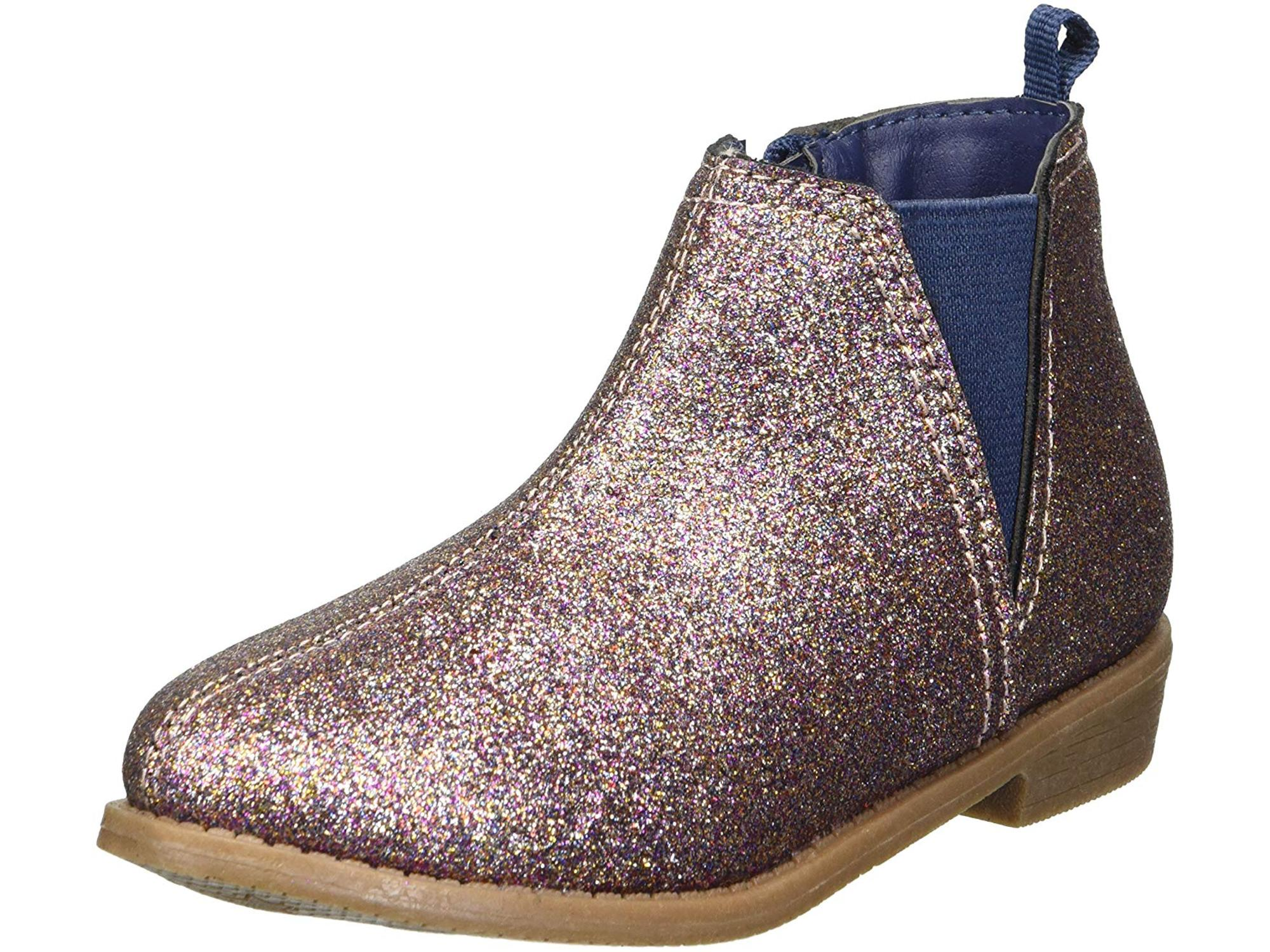Gold Size Toddler 7.0 Carter/'s Kids Girl/'s Dawn4 Gold Western Boot