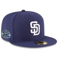San Diego Padres New Era 50th Anniversary Authentic Collection On-Field 59FIFTY Fitted Hat - Navy