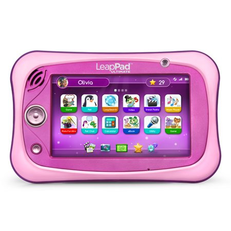 LeapFrog LeapPad Ultimate - Pink (Best Leappad Games For 3 Year Old)