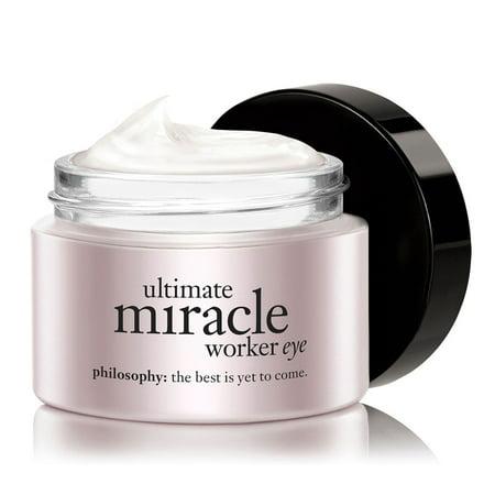 Philosophy Ultimate Miracle Worker Eye Multi-Rejuvenating Eye Cream, 0.5 (Miracle Worker Anti Aging Retinoid Eye Repair)