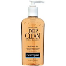 Facial Cleanser: Neutrogena Deep Clean Facial Cleanser