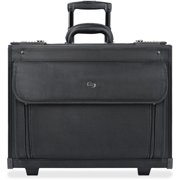 Solo USLB784 US Luggage Ballistic Rolling Computer Catalog Case, Black