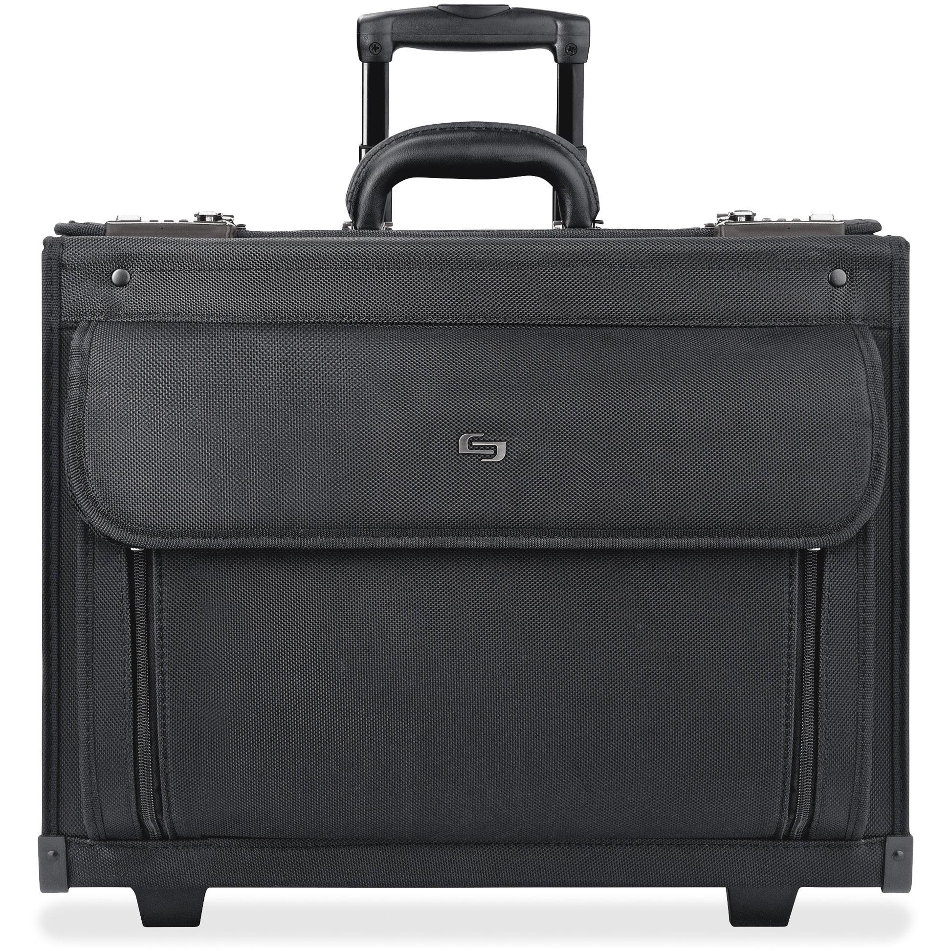 Solo, USLB784, US Luggage Ballistic Rolling Computer Catalog Case, 1, Black