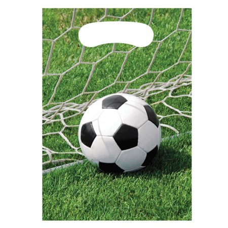 Soccer Party Bags (Soccer Fanatic Treat Bags (8)