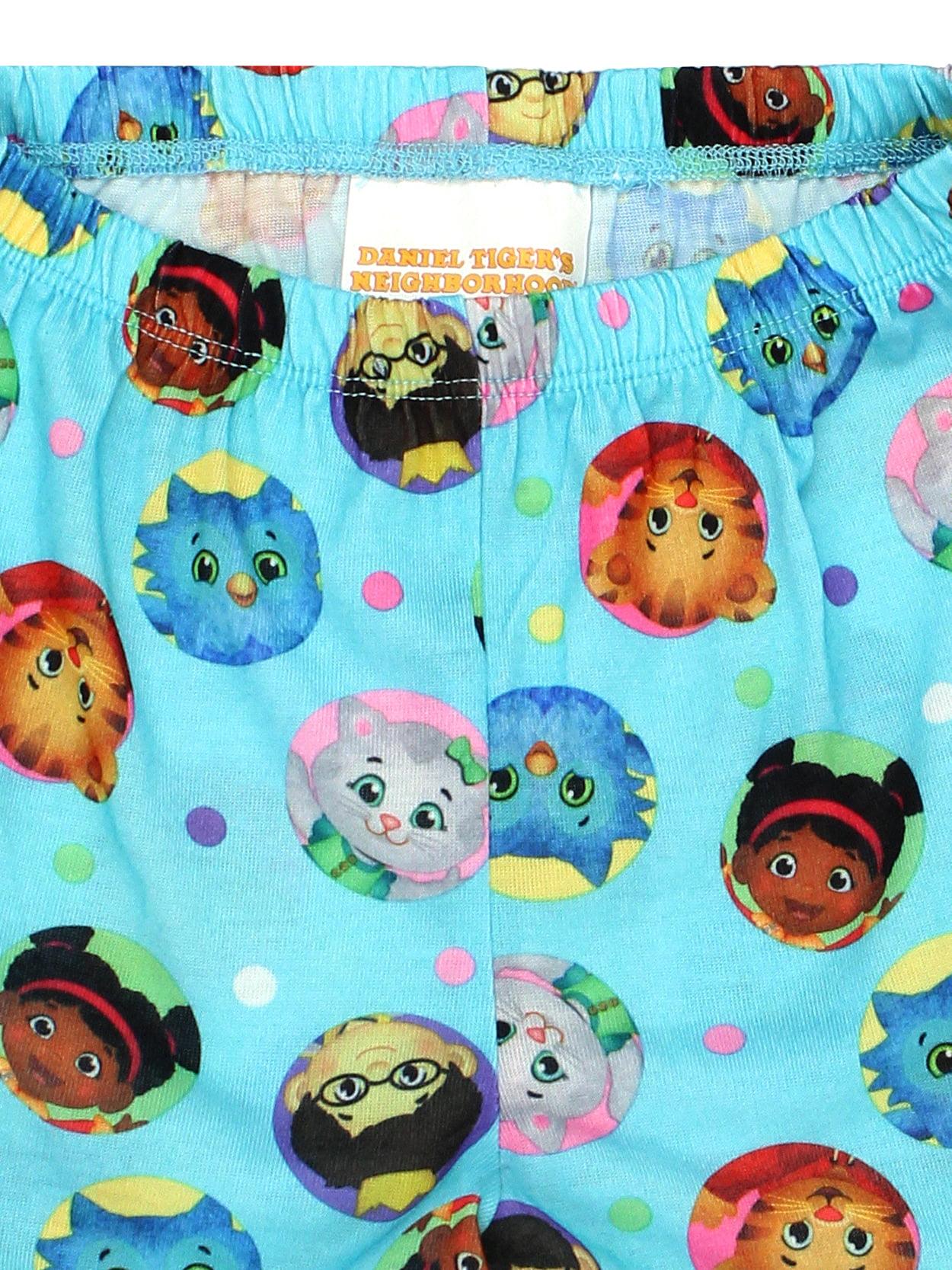 f52af20404 Daniel Tiger - Daniel Tiger Toddler Girls Long Sleeve Poly Pajama Set  K182523DAX - Walmart.com