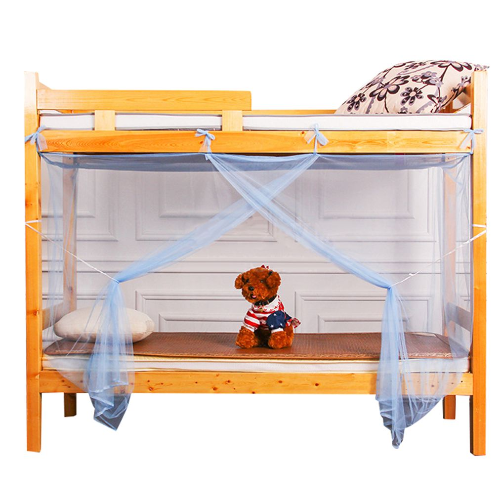 Children Bunk Beds Valance Student Dormitory Insect Net Four Corner Bedding Canopy Bug Repeller Bed Curtain Workhe Walmart Canada
