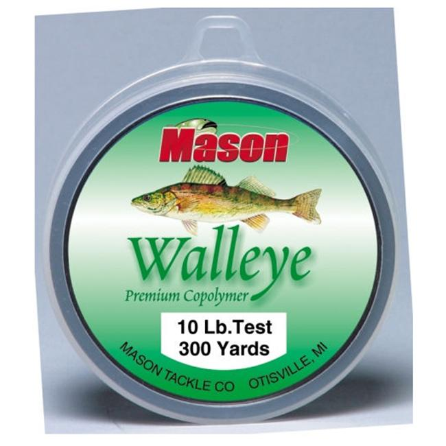 Mason Tackle Company WL-300-10 Walleye Premium Co-Polymer - 10 lb.