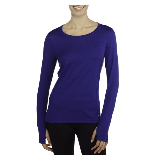 Women's Active Long-Sleeve Performance Tee with Mesh Details