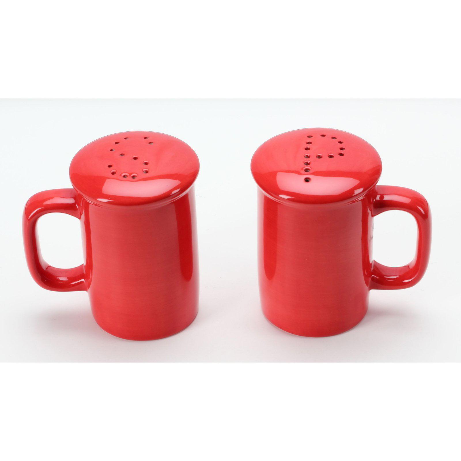 Omniware Handled Salt and Pepper Shaker Set