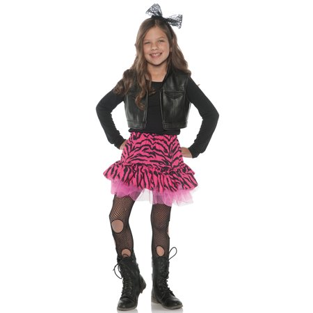 80'S Zebra Rocker Child Costume - 80s Punk Rocker Costume