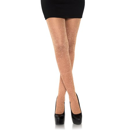Leg Avenue Women's Lurex Metallic Shimmer Tights