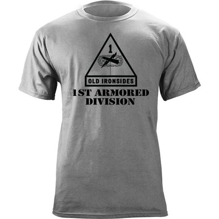 Army 1St Armored Division Subdued Veteran T Shirt