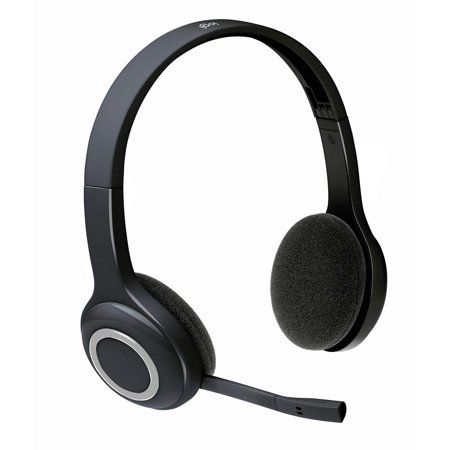 Logitech H600 Over The Head Wireless Headset Bulk Package
