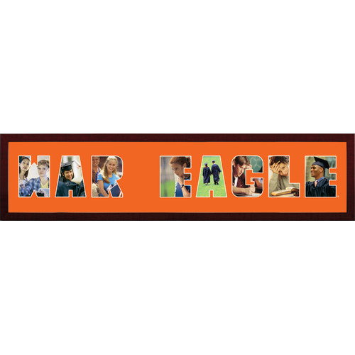 Auburn Tigers Spirit Collage Frame
