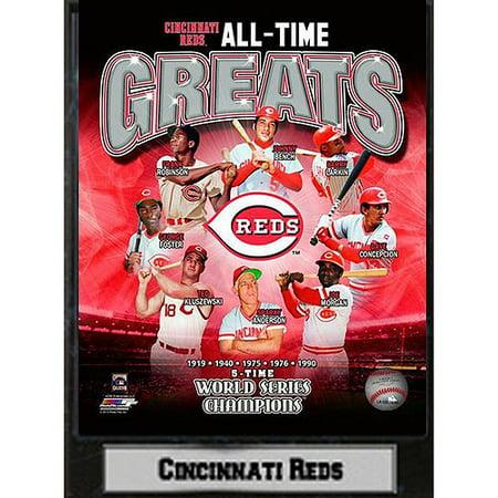 MLB Cincinnati Reds Photo Plaque, 9x12 ()