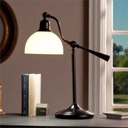 Southern Enterprises OttLite Concord Task Lamp in Rubbed Bronze