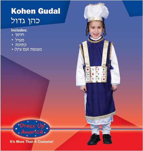 Jewish High Priest Costume Set - Large 12-14