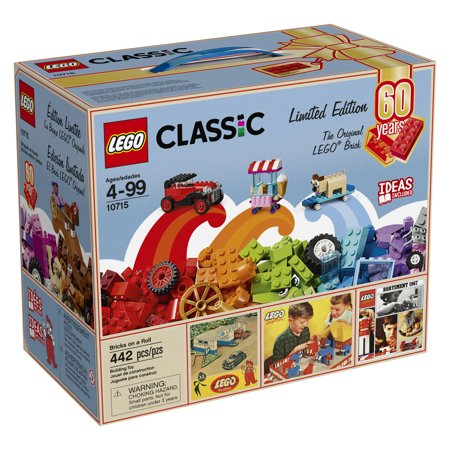 LEGO Classic Bricks on a Roll 10715 - 60th Anniversary Limited Edition - Lego Gear Set