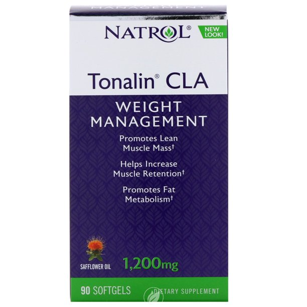 Natrol Tonalin CLA Dietary Supplement Softgels - 90.0 ea, Pack of 2
