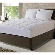 Fusion Embossed Peached Waterproof Mattress Pad with Scotchgard Treatment California King