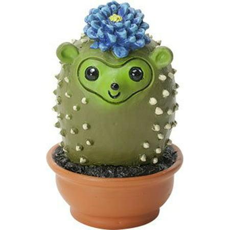 Cactus Figurine (Ebros Cattus The Cat That Transform Into A Cactus Plant Small 2.25
