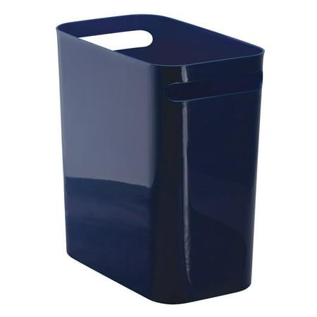 InterDesign Una Wastebasket Trash Can 12