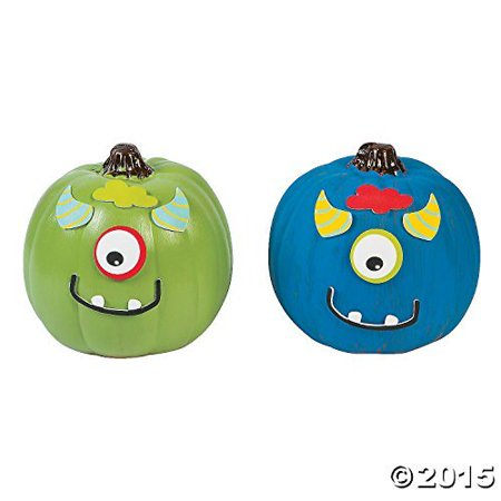 Mini Monster Pumpkin Decorating Craft Kit by Oriental Trading Company](Oriental Trade Com)