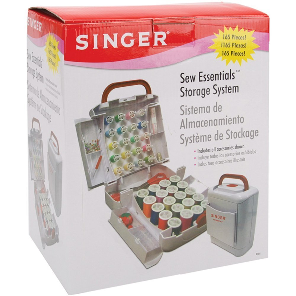 Sew Essentials Storage System, 165 Pieces, USA, Brand Singer