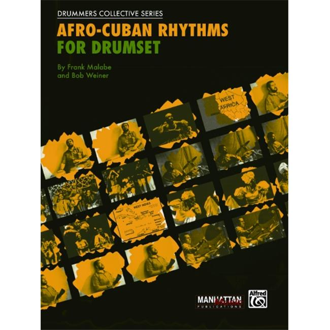 Alfred Afro-Cuban Rhythms for Drumset (Book/CD)