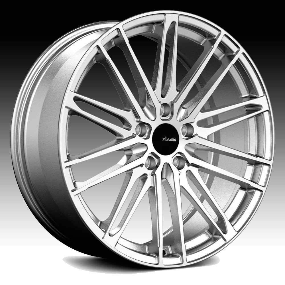 Advanti Racing DS Diviso Machined Silver 18x8 5x4.25 45mm (DS8850845S)