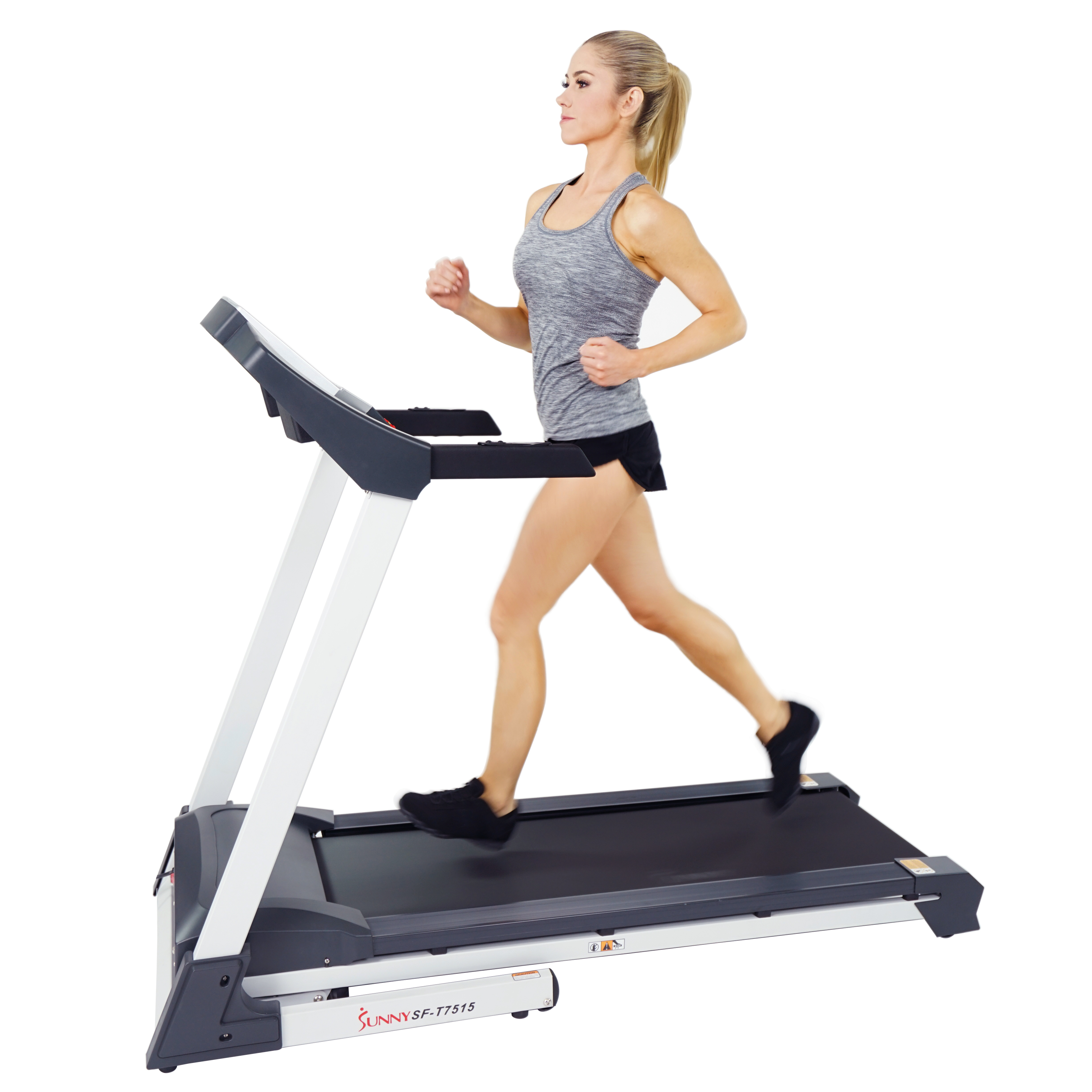 Sunny Health & Fitness SF-T7515 Smart Treadmill w Bluetooth, Phone by Sunny Health & Fitness