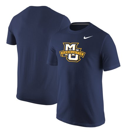 Marquette Golden Eagles Nike Big Logo T-Shirt - Navy