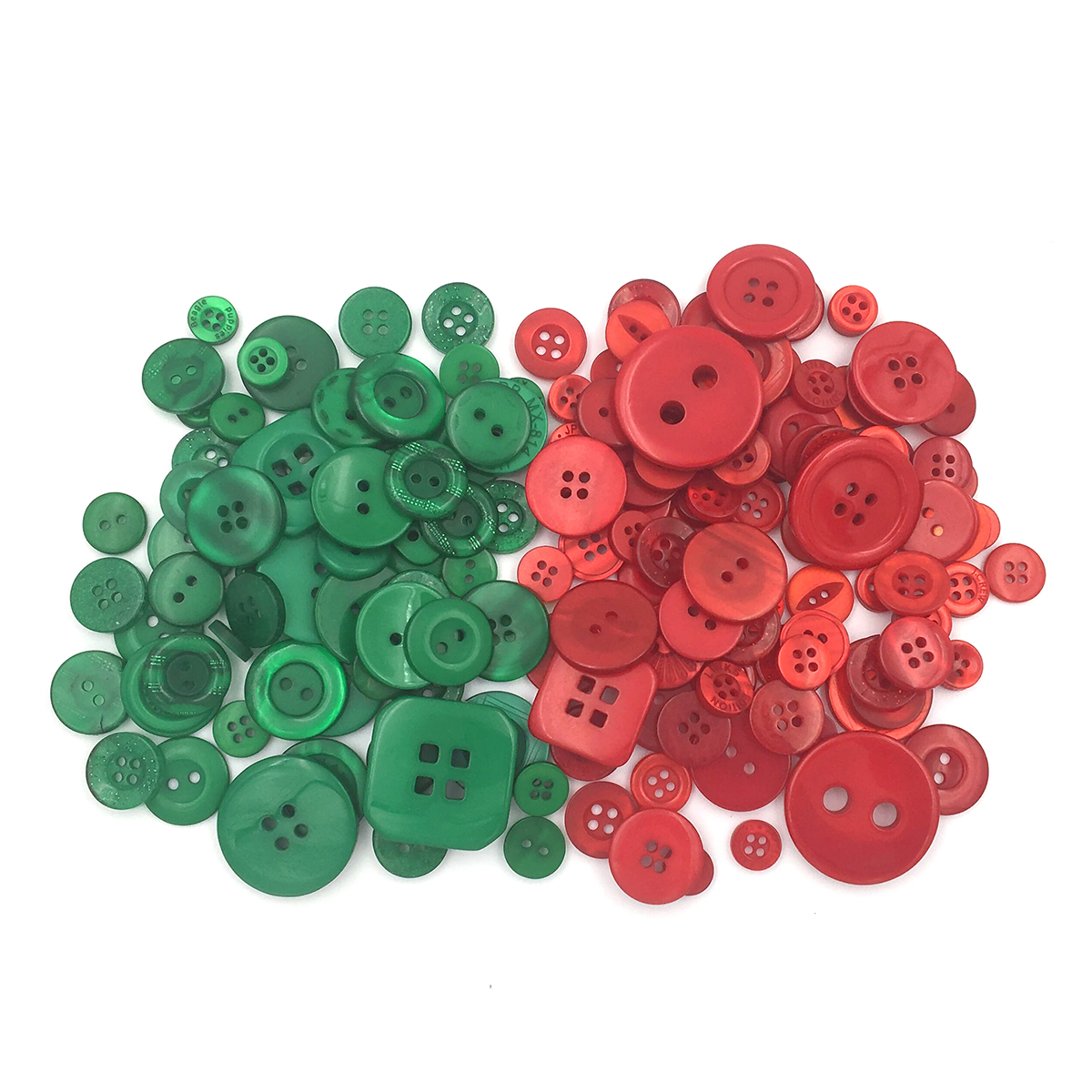 18mm 75 Red Round Resin Sewing Buttons Scrapbooking