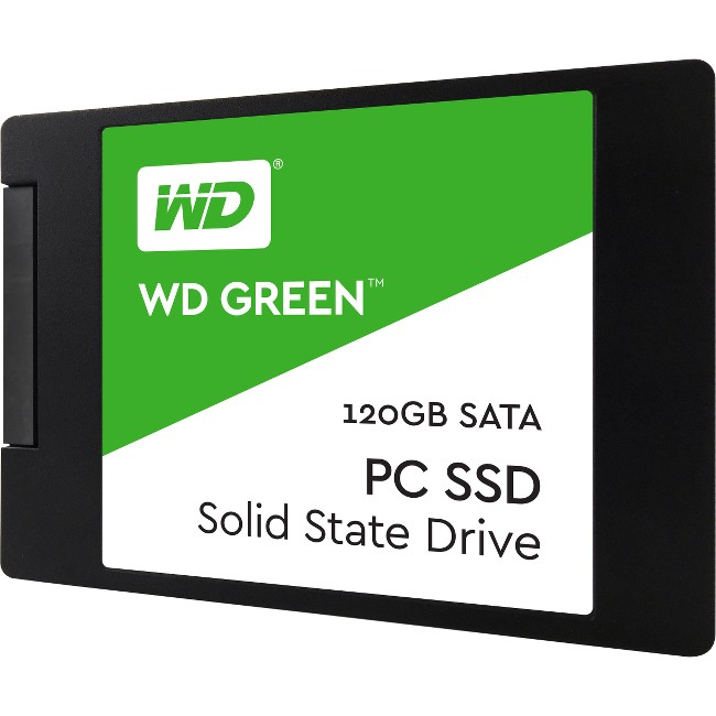 "WD Green 120GB 2.5"" SATA Internal Solid State Drive WDS120G2G0A"