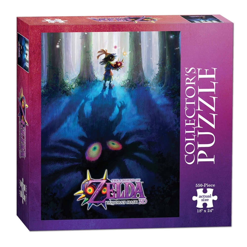 Legend of Zelda Majoras Mask 550 Piece Puzzle