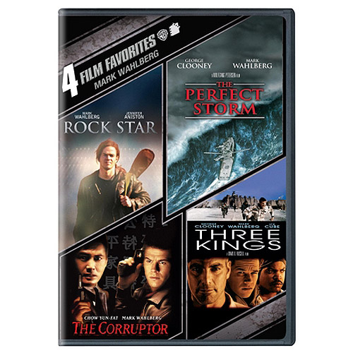 4 Film Favorites: Mark Wahlberg - The Perfect Storm / Three Kings / Rock Star / The Corruptor (Widescreen)
