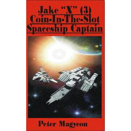 Jake X Izzy (Jake X (3) Coin-in-the-slot Spaceship Captain -)