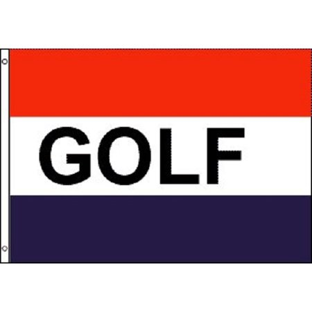 GOLF Flag Golfing Advertising Banner Course Pennant New Indoor Outdoor 3x5 Foot Golf Pin Flag