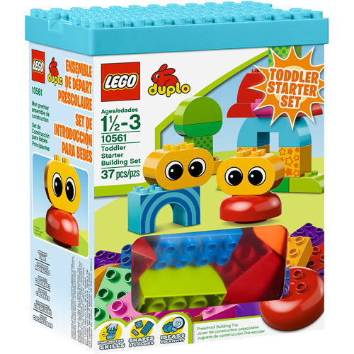 LEGO DUPLO Creative Play Toddler Starter Building Set