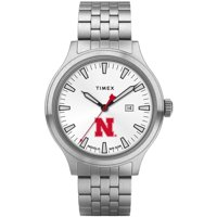 Nebraska Cornhuskers Timex Top Brass Watch - No Size
