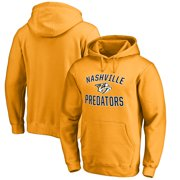Nashville Predators Fanatics Branded Victory Arch Fleece Pullover Hoodie - Gold