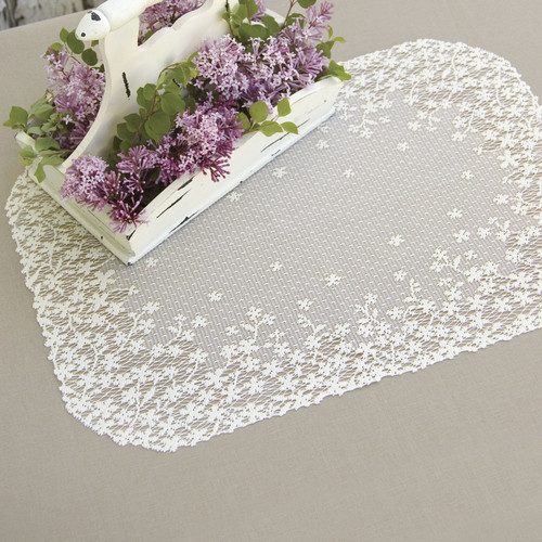 Blossom Placemat, Ecru (Set of 4)